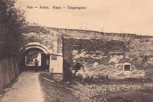 Ada-Kaleh:vár kapu bejárata.1912