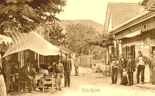 Ada Kaleh:bazár sor.1903