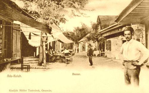 Ada Kaleh:Bazár.1902
