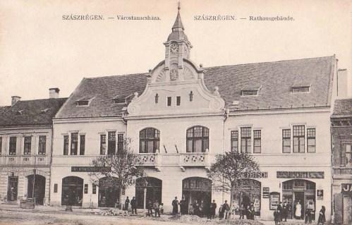 Szászrégen:városi tanácsháza (városháza).1911