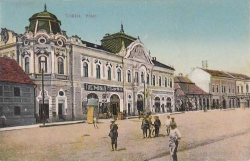 Torda:főtér.1913