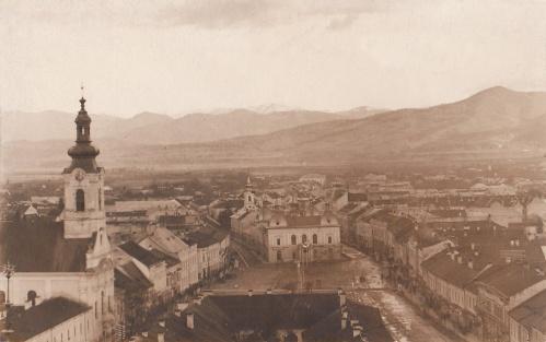Máramarossziget.templomok,vigadó.1903
