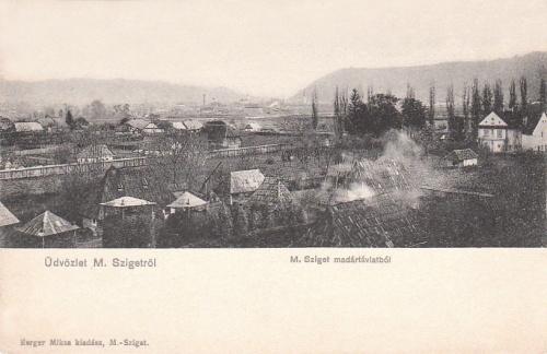 Máramarossziget:látkép.1905