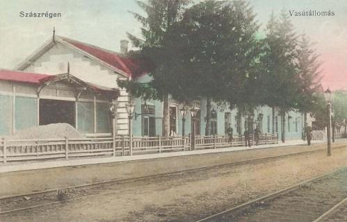 Szászrégen:pályaudvar (vasútállomás).1912