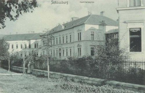 Segesvár:Megyei Korház.1907