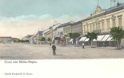 Szászrégen:főtér.1904