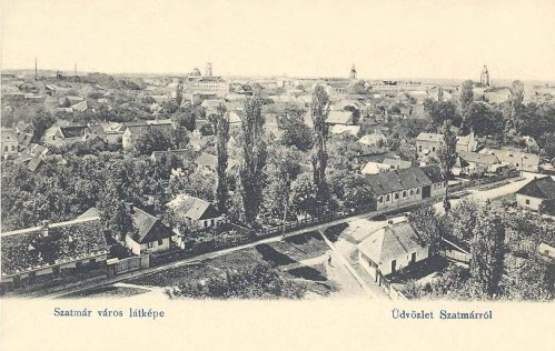 Szatmár:látkép.1904