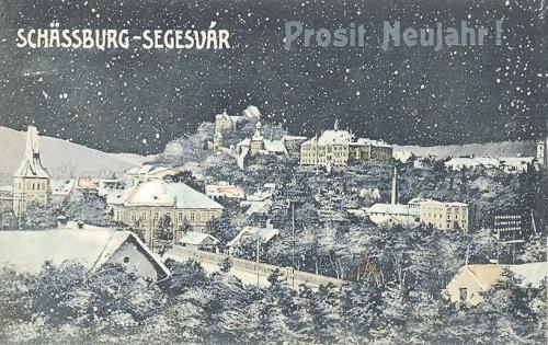 Segesvár:Boldog új évet.1912
