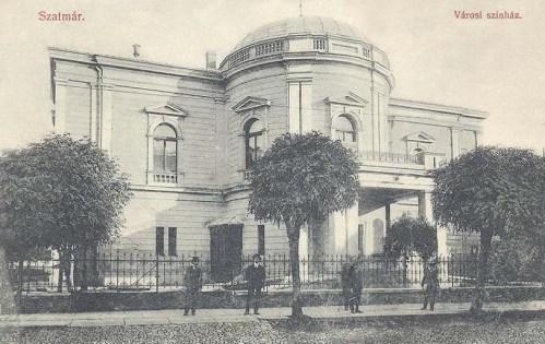 Szatmár:városi Szinház.1912