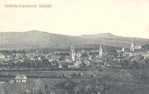 Székelyudvarhely:látkép.1911