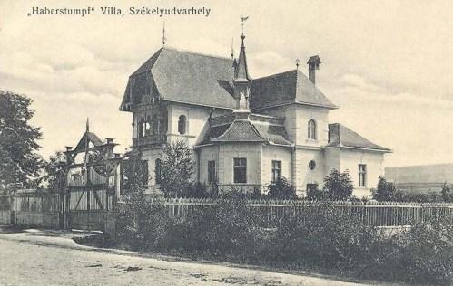 Székelyudvarhely:Haberstumpf villa.1912