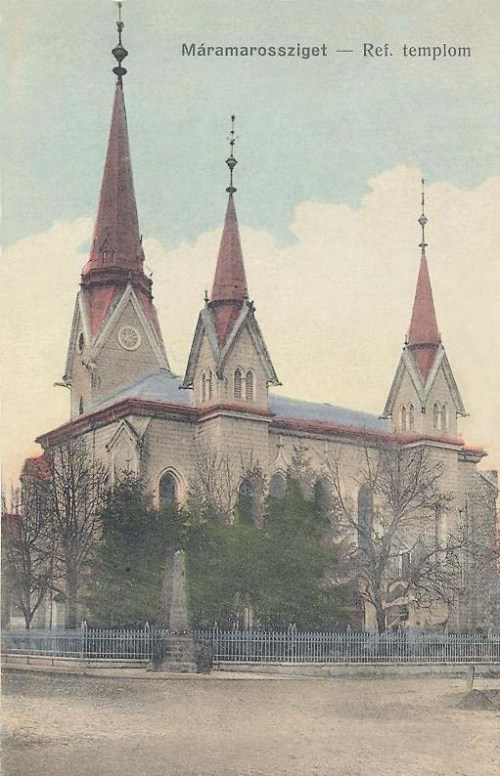 Máramarossziget:református templom.1914