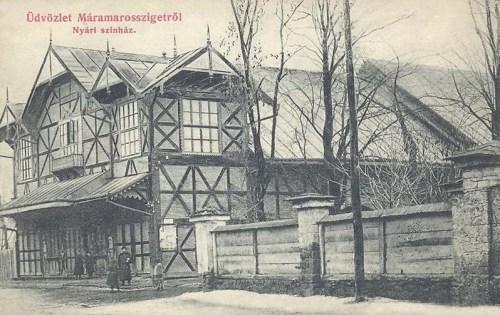 Máramarossziget:nyári színház.1910