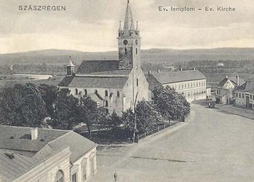 Szászrégen:evangélikus templom.1907