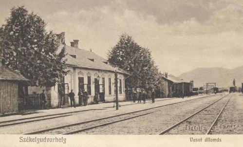 Székelyudvarhely:vasútállomás.1907