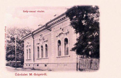 Máramarossziget:Szép utcai részlet.1903