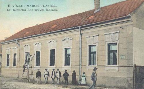 Marosludas:Dr.Keresztes Ede ügyvéd lakóháza.1911