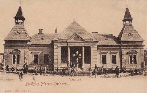 Marosludas-Ludasch-Ludus:városháza 1901