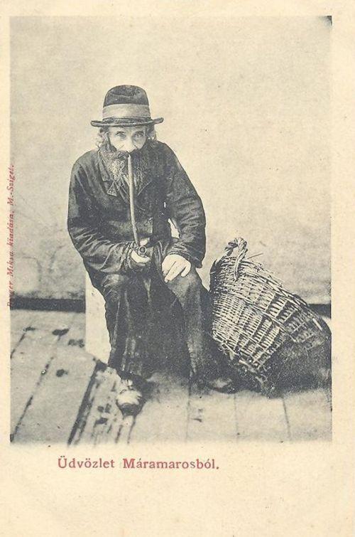 Máramaros, öreg zsidó 1900