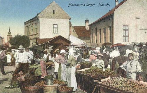 Máramarossziget: piac.1916