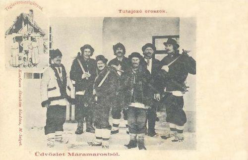 Máramarossziget:tutajozó oroszok,téglavető cigányok.1903