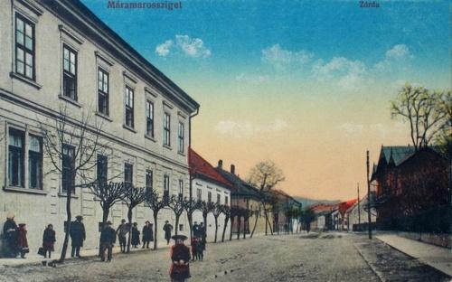 Máramarossziget:zárda.1914