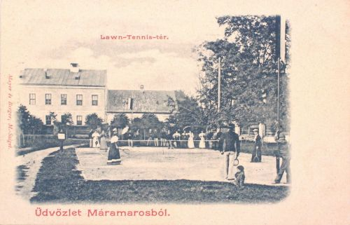 Máramarossziget:teniszpálya.1902