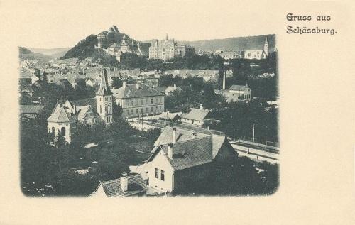 Segesvár:látkép.1905