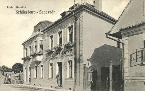 Segesvár:Kovács szálloda a Zöld Fához,1912.