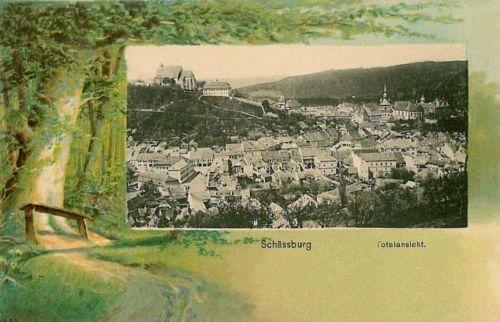 Segesvár:látkép.1901