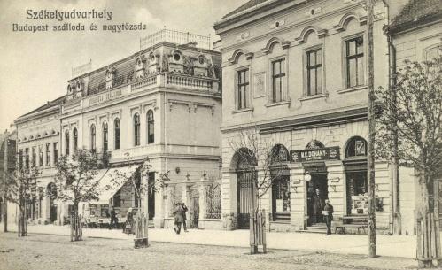 Budapest szálloda és Magyar Királyi Dohány Nagy Tőzsde,1912.