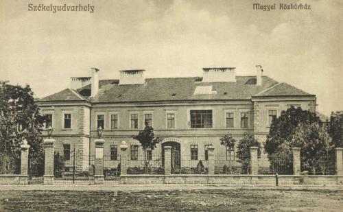 Megyei korház,1914.