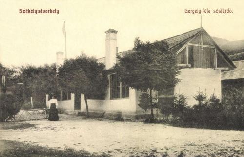 Székelyudvarhely:Gergely féle sós fürdő,1909.