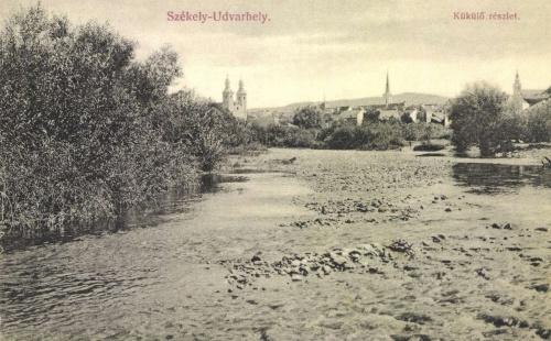 Székelyudvarhely:Küküllő részlet,1907.