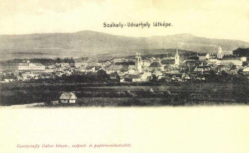 Székelyudvarhely:látkép,1904.