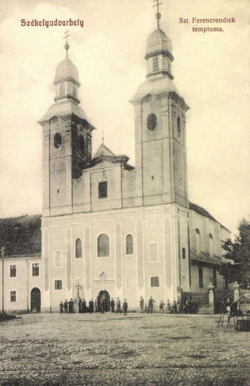 Székelyudvarhely:Szent Ferencrendiek temploma,1908.