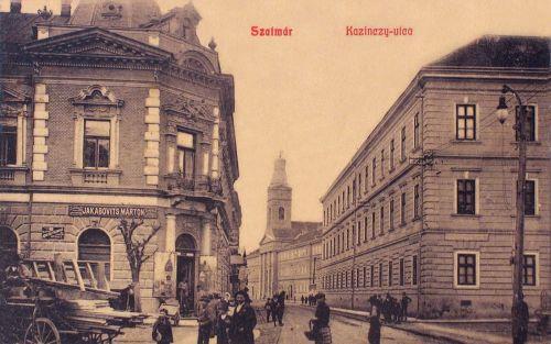 Szatmár:Kazinczy utca.1908