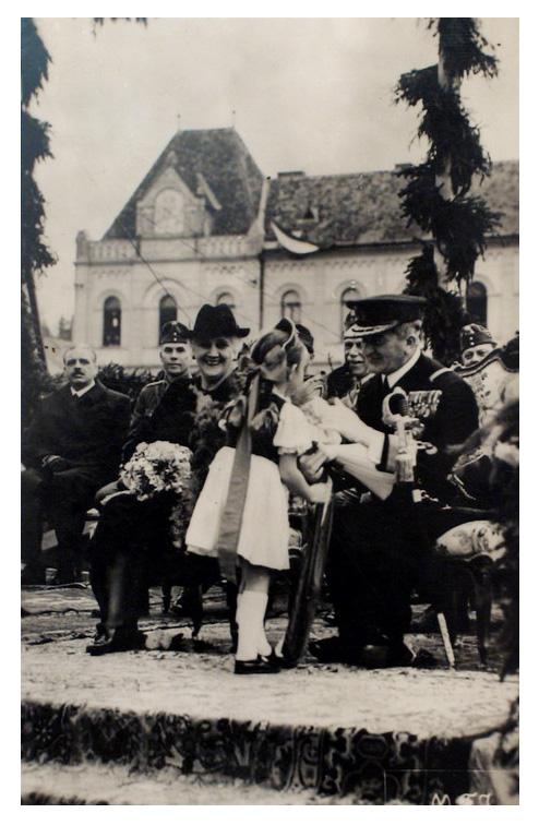 Szászrégen:Horthy kormányzó.1940