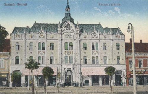 Szatmárnémeti:Pannónia szálloda 1911