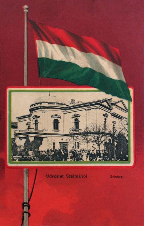 Szatmár:városi szinház.1901