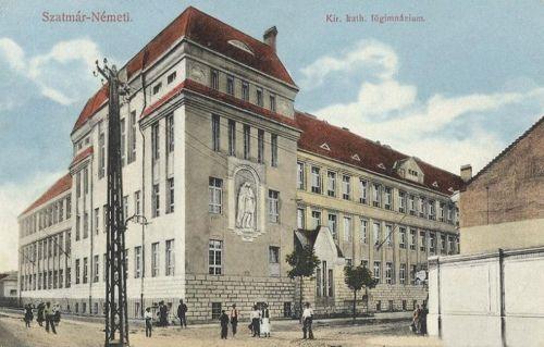 Szatmárnémeti:katolikus főgimnázium. 1913