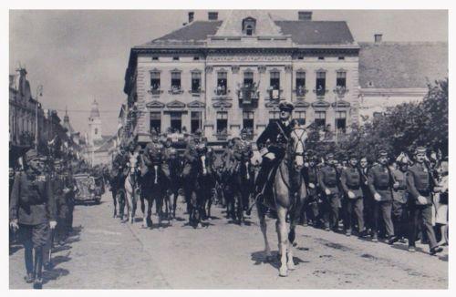 Szatmárnémeti:Horthy Miklós Magyarország kormányzója.1940