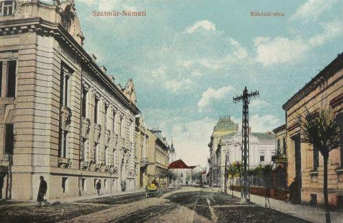 Szatmárnémeti:Rákóczi utca.1914