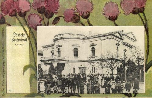 Szatmár:színház (szecessziós),1901.