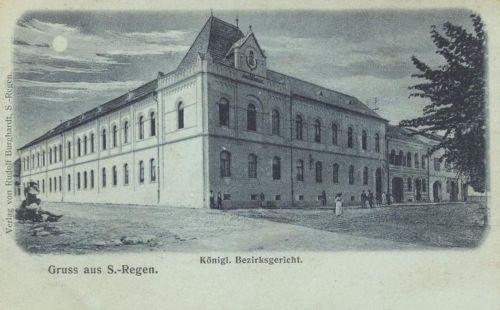 Szászrégen:Királyi Kerületi Biróság .1900