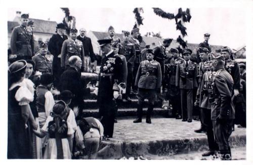 Szászrégen:Horthy Miklós fogadása.1940