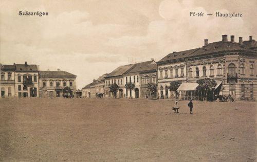 Szászrégen:Főtér.1916