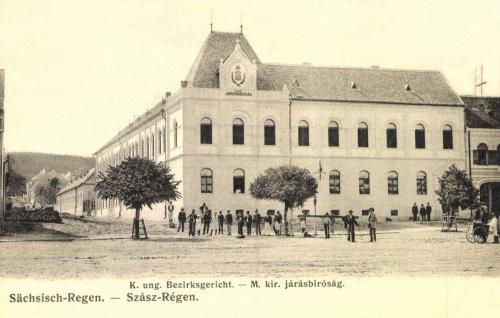 Szászrégen:Magyar Királyi Járásbiróság,1906.