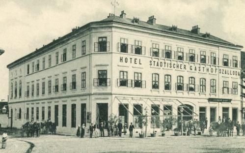Szászrégen:városi szálloda és vendéglő,1902.