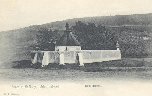Székelyudvarhely:Jézus szive kápolna.1904